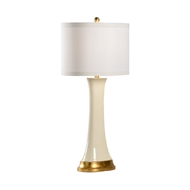 Chelsea House Lighting Hopper Lamp - Cream 69421 Ceramic