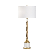 Chelsea House Lighting Key West Lamp 69515 Iron/Crystal