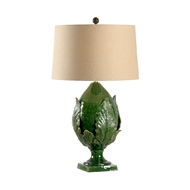 Chelsea House Lighting Large Forest Artichoke Lamp 69450 Ceramic