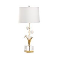 Chelsea House Lighting Large Orchid Lamp 69573 Iron/Porcelain