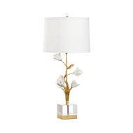 Chelsea House Lighting Large Tulip Lamp 69572 Iron/Porcelain