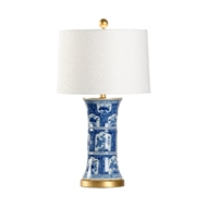 Chelsea House Lighting London Lamp 69969 Ceramic