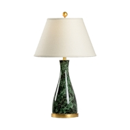 Chelsea House Lighting Malachite Beaker Lamp 69997 Ceramic