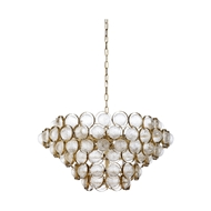 Chelsea House Lighting Milan Chandelier 69613 Metal/Glass
