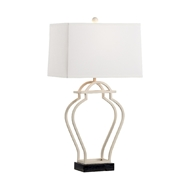 Chelsea House Lighting Nanjing Lamp - Cream 69493 Iron & Marble