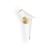 Chelsea House Lighting Origami Bird Sconce 69602 Metal/Styrene