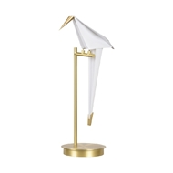 Chelsea House Lighting Origami Bird Table Lamp 69601 Iron/Styrene