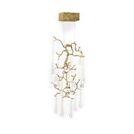 Chelsea House Lighting Polesdon Lacy Sconce 69631 Brass/Glass