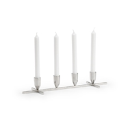 Chelsea House Lighting Regent Candlestick - Nickel 384141 Metal
