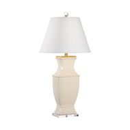 Chelsea House Lighting Rockville Lamp - Cream 69480 Ceramic & Acrylic
