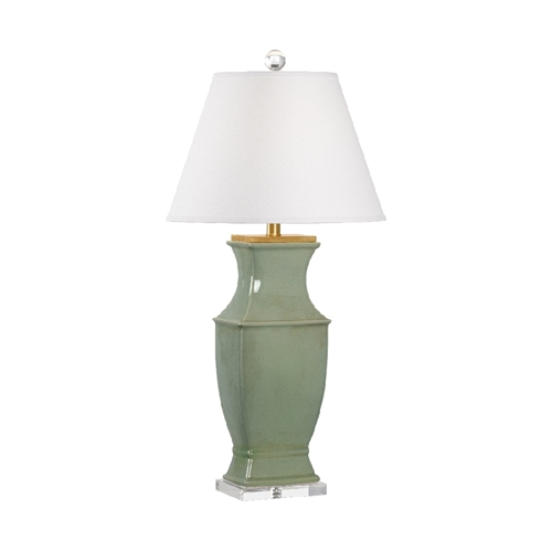 Chelsea House Lighting Rockville Lamp Green