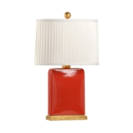 Chelsea House Lighting Slender Lamp - Rhubarb 69511 Ceramic