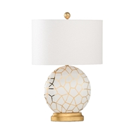 Chelsea House Lighting St Mary Lamp - White 69460 Ceramic