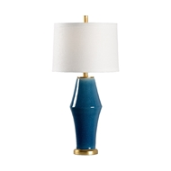 Chelsea House Lighting St Michael Lamp - Midnight 69469 Ceramic & Metal