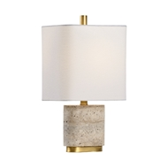 Chelsea House Lighting Stone Lamp - Small 69975 Stone