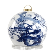 Chelsea House Lighting Tree Canton Lantern Lamp - Small 69606 Ceramic