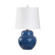 Chelsea House Lighting Wrightsville Lamp - Blue 69516 Ceramic