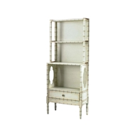 Chelsea House Home Bamboo Bookcase-Crm 380001