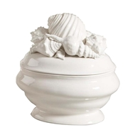 Chelsea House Home Shell Ceramic Tureen