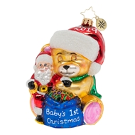 Christopher Radko Baby's First Christmas Ornament