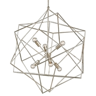 Currey & Company Lighting Aerial Chandelier