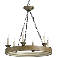 Currey Shade-Beachhouse Chandelier