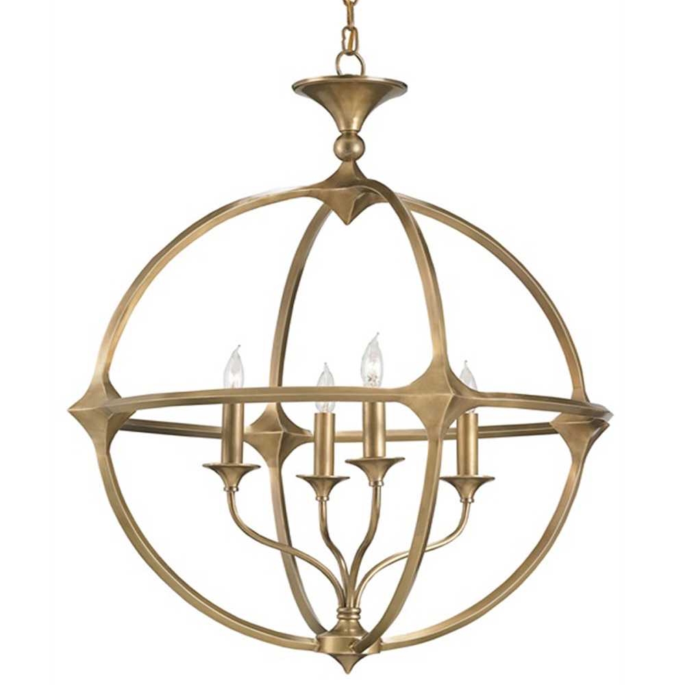 Currey And Company Orb Chandelier: Currey Company Lighting Bellario Orb Chandelier 9346