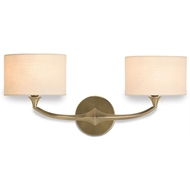 Currey Light Fixtures - 5171 Bellario Wall Sconce - Brass Wall Sconce