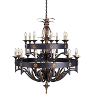 Currey & Company Lighting Camelot Chandelier Large