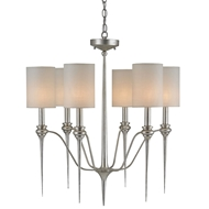 Currey Light Fixtures - 9806 Chaddbury Chandelier - Wrought Iron Chandeliers