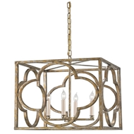 Currey Light Fixtures - 9360 Cosette Lantern - Wrought Iron Chandeliers
