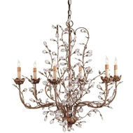 Currey & Company Lighting Cupertino Chandelier Medium