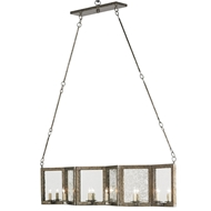Currey & Company Lighting Deansgate Rectangular Chandelier