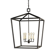 Currey & Company Lighting Denison Lantern in Large