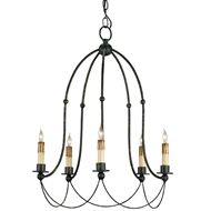 Currey & Company Lighting Derrymore Chandelier