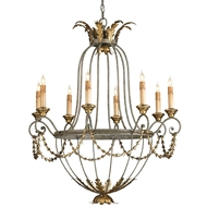 Currey & Company Lighting Elegance Chandelier