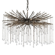 Currey Shade-Fen Chandelier