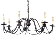 Currey & Company Lighting French Nouveau Chandelier