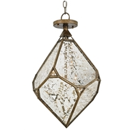 Currey Shade-Glace Chandelier