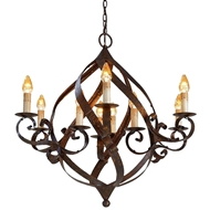 Currey & Company Lighting Gramercy Chandelier