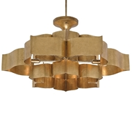 Currey & Company Lighting Grand Lotus Chandelier