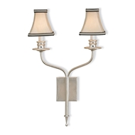 Currey Light Fixtures - 5106 Highlight Wall Sconce - Wrought Iron/Composite Wall Sconce