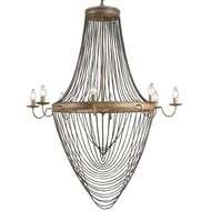 Currey & Company Lighting Lucien Chandelier in Large
