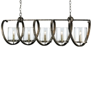 Currey & Company Lighting Maximus Rectangular Chandelier