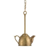 Currey Light Fixtures - 9651 Oolong Pendant - Brass Pendant