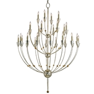 Currey & Company Lighting Paradox Chandelier in Large