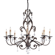 Currey & Company Lighting Pompeii Chandelier