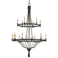 Currey & Company Lighting Priorwood Chandelier