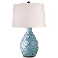 Currey Light Fixtures - 6658 Roehampton Table Lamp - Terracotta Table Lamps
