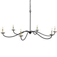 Currey & Company Lighting Saxon Chandelier